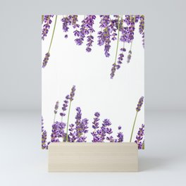 Purple Lavender #2 #decor #art #society6 Mini Art Print
