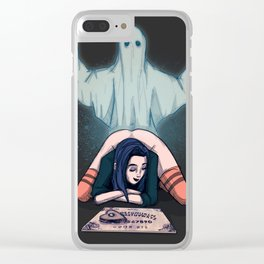 Spooky Season Clear iPhone Case