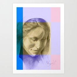 Margriet 08 Art Print