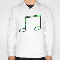 record Hoodies featuring Broken Record by StevenARTify