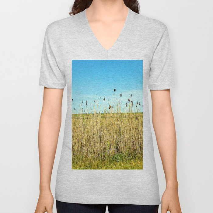 Tall Grass Unisex V-Neck