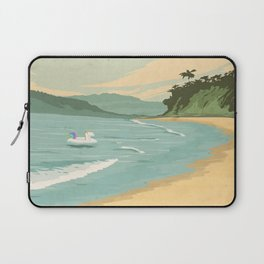 Santa Barbara Beach Laptop Sleeve