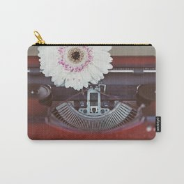 Message of Love Typewriter Carry-All Pouch
