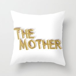 New Mom Gift First Time Mother's Day Throw Pillow