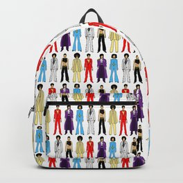 Purple Power Outfits Backpack