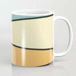 Abstract Graphic Design Pastel Coffee Mug