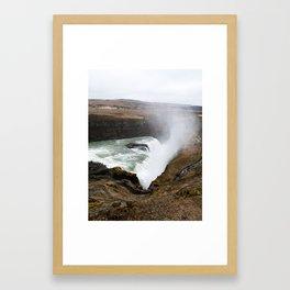 Iceland water Framed Art Print
