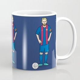 Lionel Messi - Blue Coffee Mug