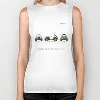 jeep Biker Tanks featuring Jeep by priby