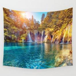 Plitvice Lakes National Park Croatia Ultra HD Wall Tapestry
