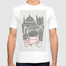 Copenhagen Cityscape T-shirt