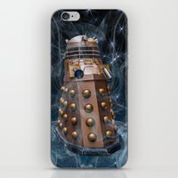 dalek iPhone & iPod Skins featuring Dalek by Steve Purnell