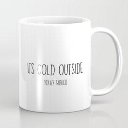 Cold bunny. Coffee Mug