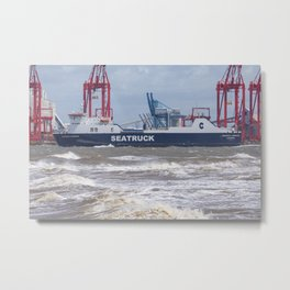 Seatruck Panorama 2 Metal Print