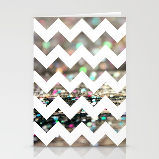 Afterparty Chevron Stationery Cards