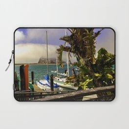 Tropical Morro Bay Laptop Sleeve