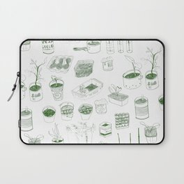 Cover, CONTAIN, Compost - 2 of 3 Laptop Sleeve