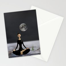 Let yourself drift through time and space Stationery Cards