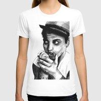 bruno mars T-shirts featuring B MARS  by Miss Kicks