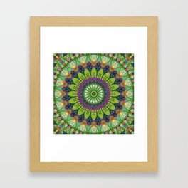 Mandala Patchwork 2 Framed Art Print