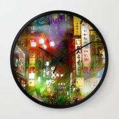 Just one street Wall Clock