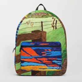 Country Sunrise in Acrylic Backpack