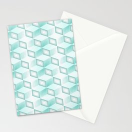 GS Geometric Abstrac 010AW S6 Stationery Cards