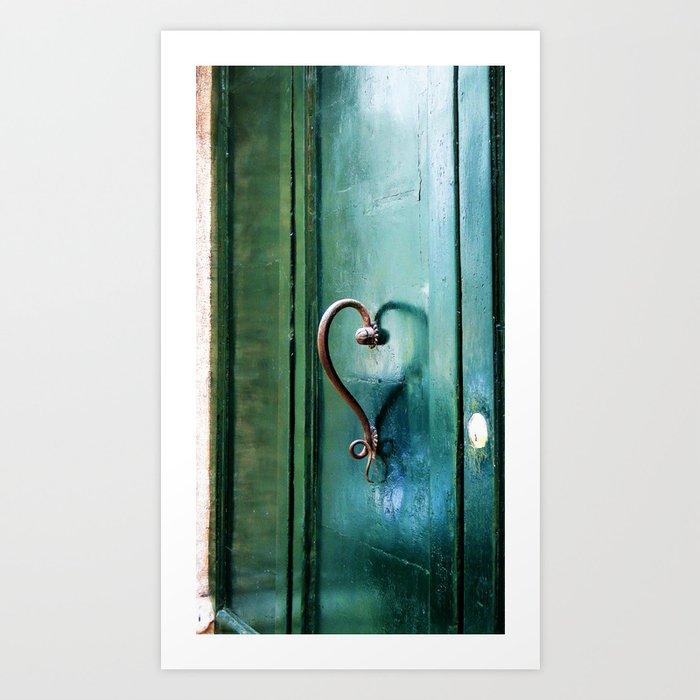 Handle on Love Art Print