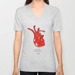 Frida Heart Unisex V-Neck