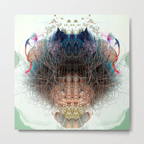 Somatic Particles Metal Print