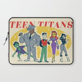 Retro Teen Titans Laptop Sleeve