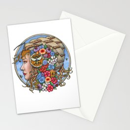 Beatrix Bee Queen by Bobbie Berendson W Stationery Cards