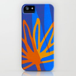 Shadow Self / Bright Abstract Flowers iPhone Case