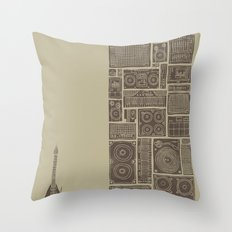 Turn It Up Throw Pillow