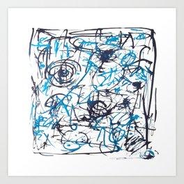 Jitterbugs Art Print