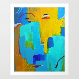 Face 2 Art Print