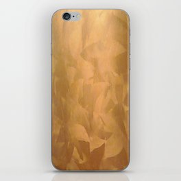 Brushed Copper Metallic - Beautiful - Rustic Glam - Fancy Faux Finishes - Metallic Paint iPhone Skin