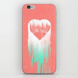 LOVE YEW iPhone Skin