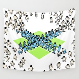 Surrogate Standard Wall Tapestry