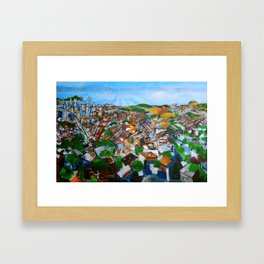 Lively View from Twin Peaks Framed Art Print