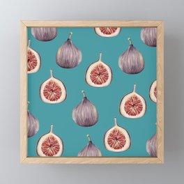 Figs #society6 #buyart Framed Mini Art Print