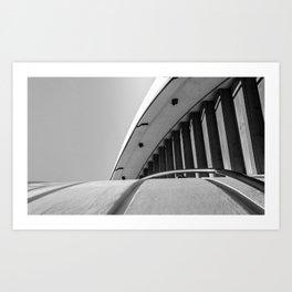 Staircase Abstract Art Print