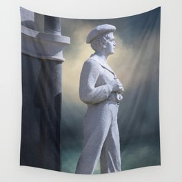 Maritime Warrior Wall Tapestry