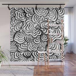 Organic Wave Wall Mural