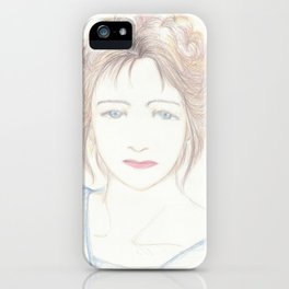lady iPhone Case