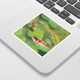 3 Koi Sticker