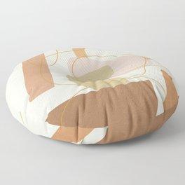 Abstract Modern Art 17 Floor Pillow