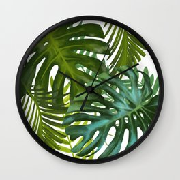 Palm and Monstra Wall Clock