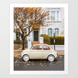 Autumn at Notting Hill Art Print