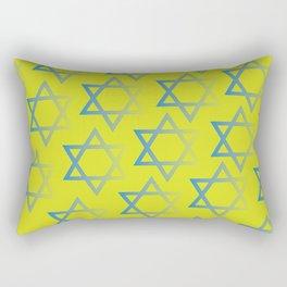 Jewish Stars Rectangular Pillow